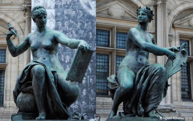 So many incredible statues are around Paris