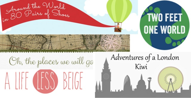 A few of the many travel blogs that I enjoy reading