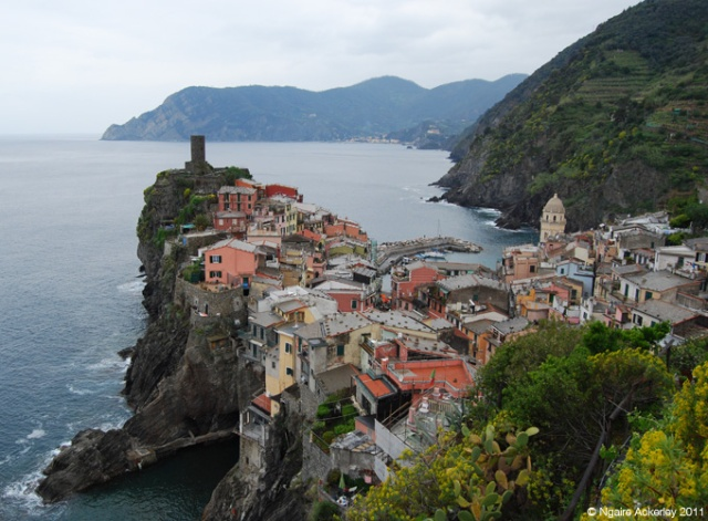 Vernazza, one of the five villages of Cinque Terre. Italy