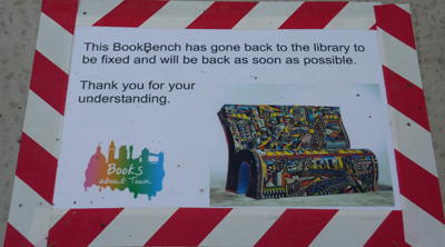 1984 Bookbench