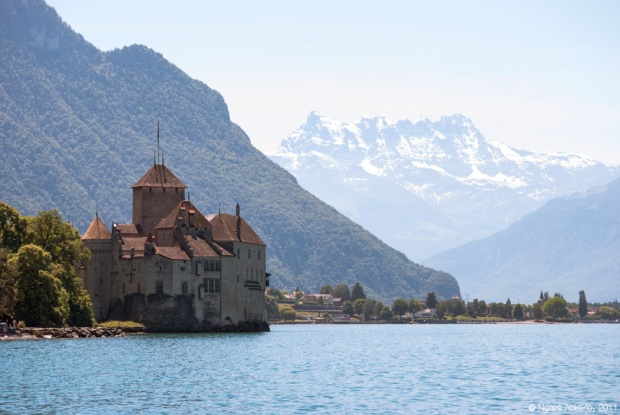 Chateau de Chillon, Montreux. Switzerland