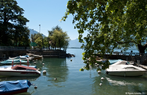 Boats, Lake Geneva, Montreux. Switzerland