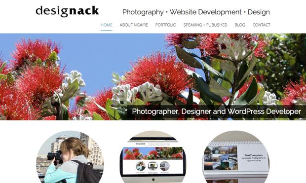 Homepage of designack.com