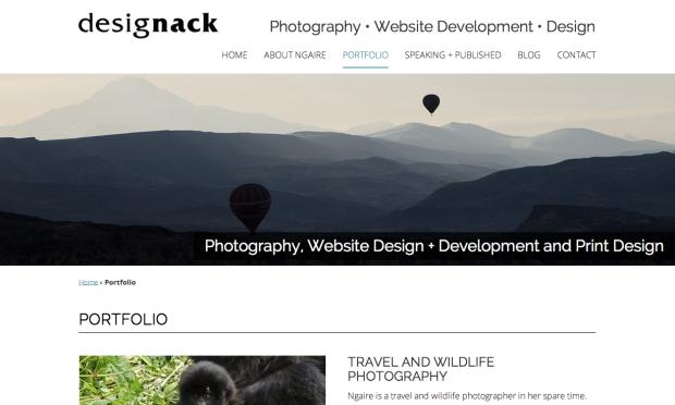 Portfolio of designack.com