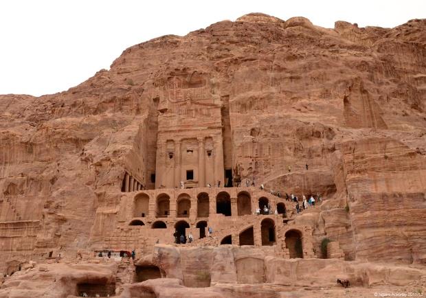 Urn Tomb, Petra. Jordan