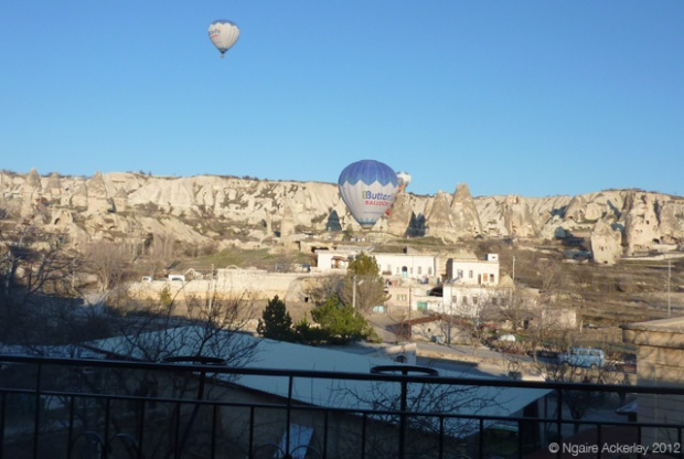 Cappadocia, Turkey view of Hot Air Balloons