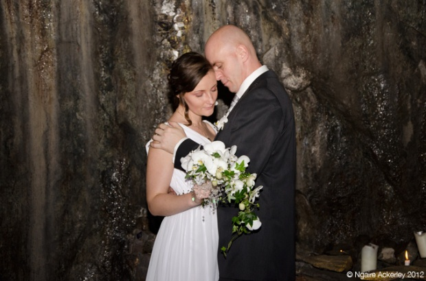 My good friends wedding in a Silver Mine in Sweden