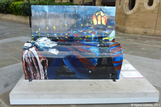 Great Expectations Bookbench. Created by Ivan Liotchev.