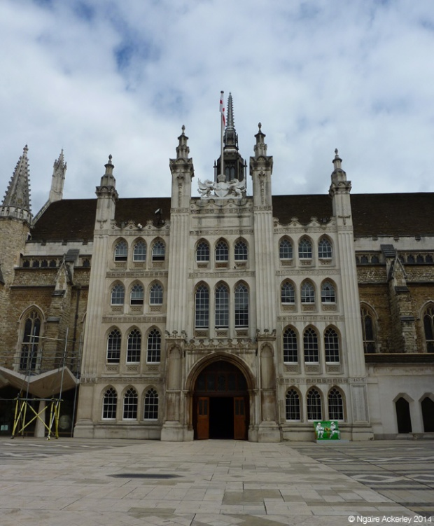 Guildhall Courtyard - one of the many spots to feature a bookbench