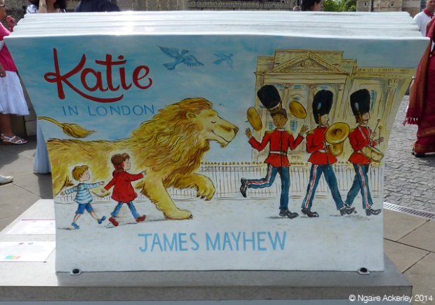 Katie in London (back). Created by James Mayhew