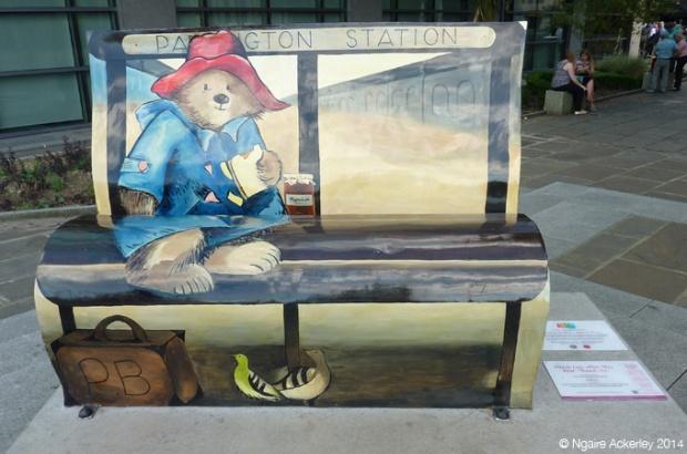 Paddington Bear. Created by Michelle Heron
