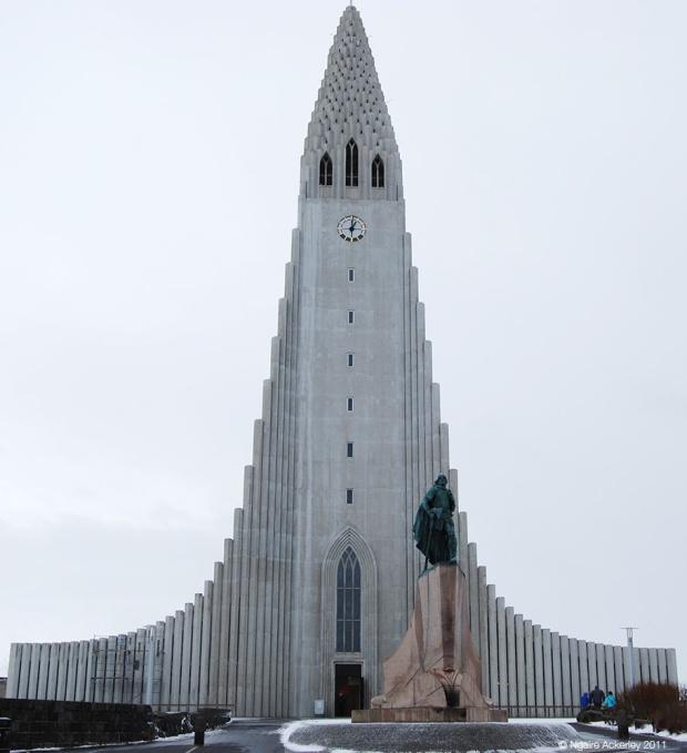 Reykjavik's cathedral, Iceland