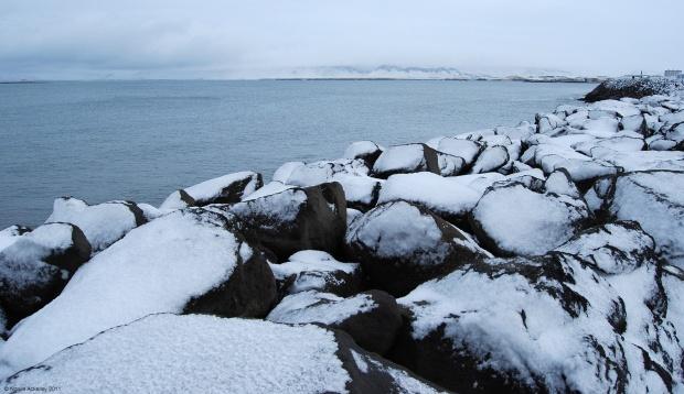 Reykjavik's waterfront, Iceland