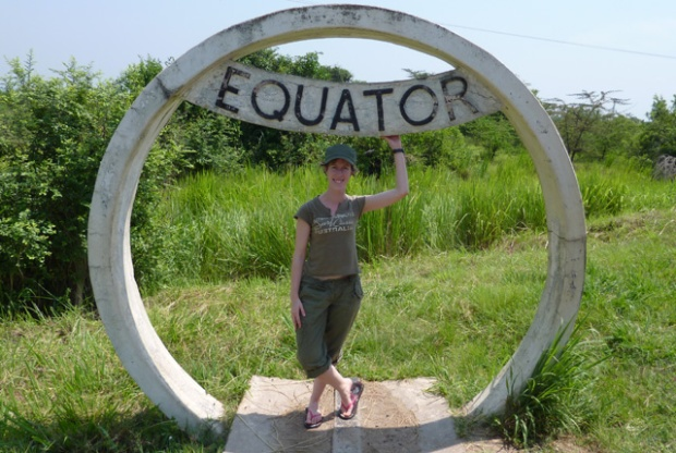 Equator stop, Uganda