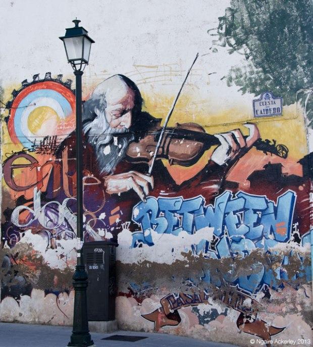 Granada Graffiti, Spain
