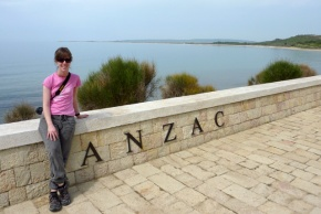 Me at Anzac Cove