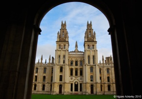 One of the many Universities in Oxford