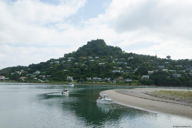 Pauanui, a holiday spot