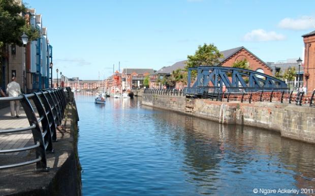 Waterways in Swansea, Wales