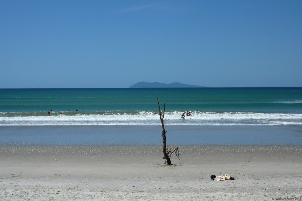 Waihi Beach, near where I grew up