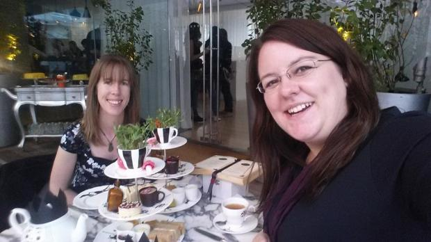 Afternoon Tea with the lovely Emma (who also took this pick)