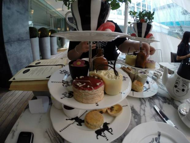 The Mad Hatters Afternoon Tea at the Sanderson Hotel