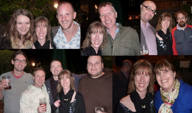 Just a few of the many friends that made it to my leaving do