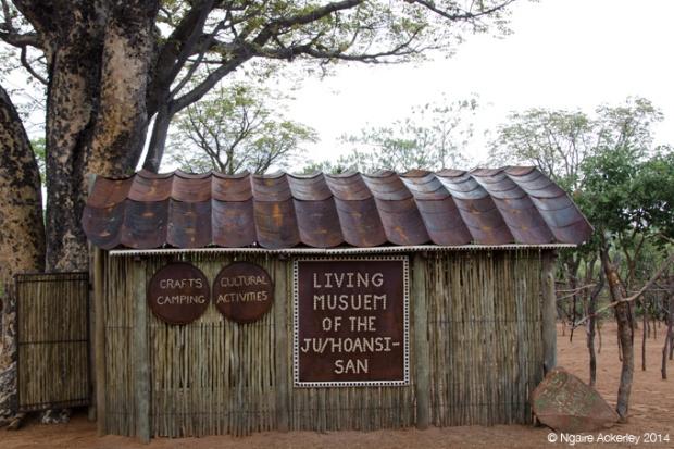 Living Museum San Bushmen