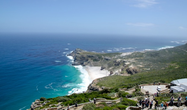 View down from Cape Point