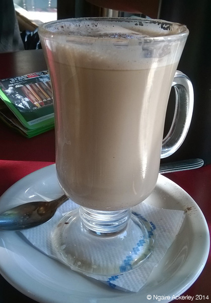 Typical tasty coffee