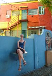 Me at La Boca