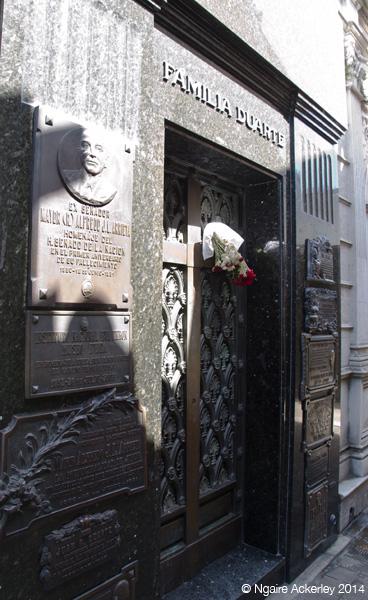 Evita's Grave, Recoleta Cemetery