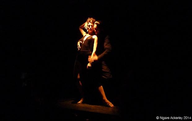 Tango show at Cafe Tortoni