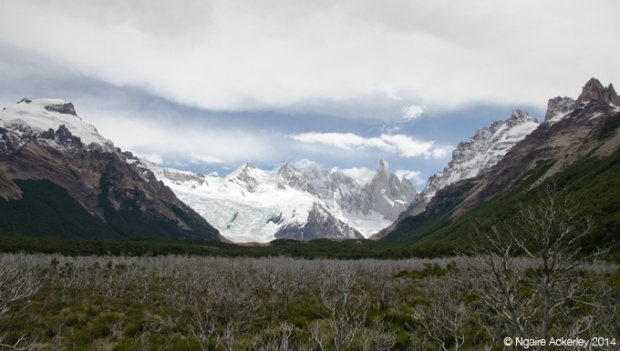Walking to Laguna Cerro Torre