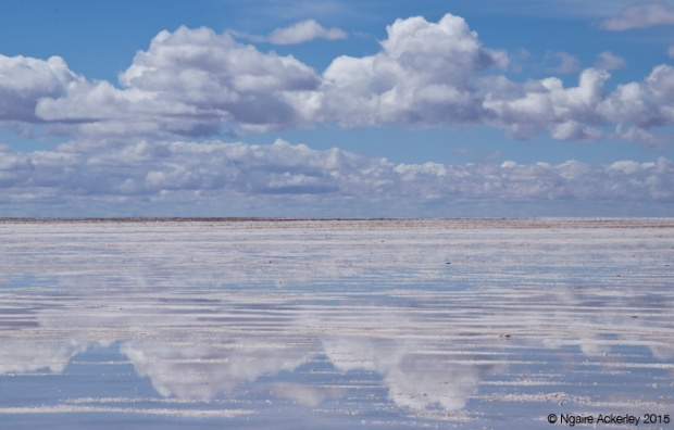 Clouds at Salar de Uyuni