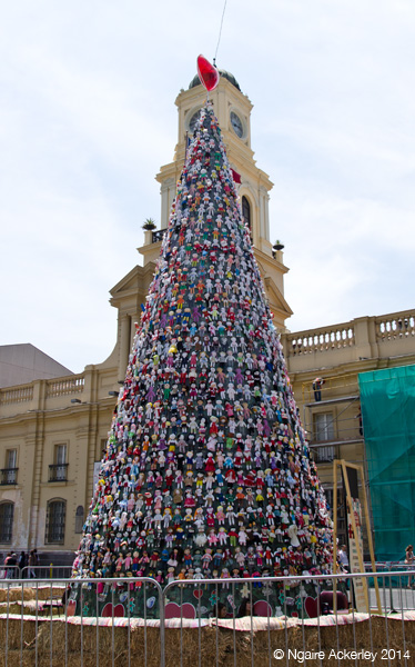 Doll Christmas Tree in Santiago