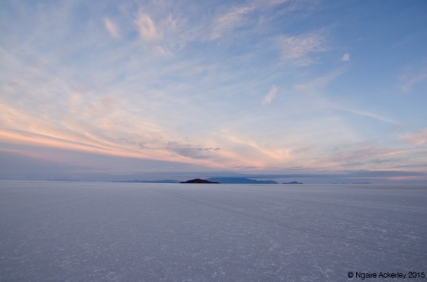 Early morning at Salar de Uyuni