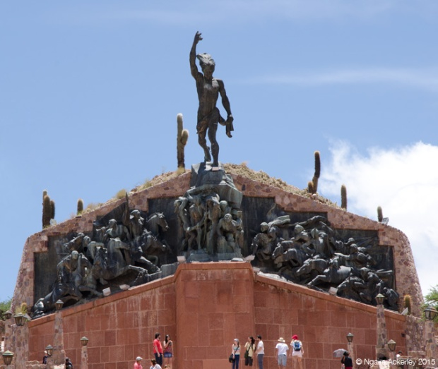 Heroes of the Independence Monument, Humahuaca