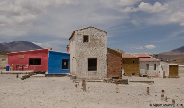 Random hotel area in the desert (lunch spot)