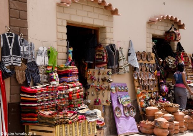 Shops at Humahuaca