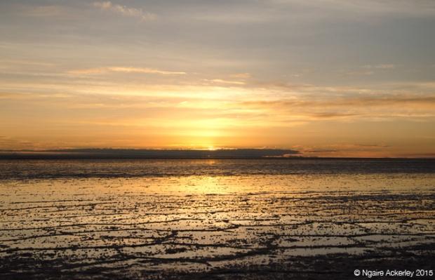 Sunrise Salar de-Uyuni