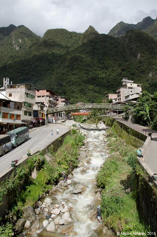 Agua Calientes, town near Machu Picchu