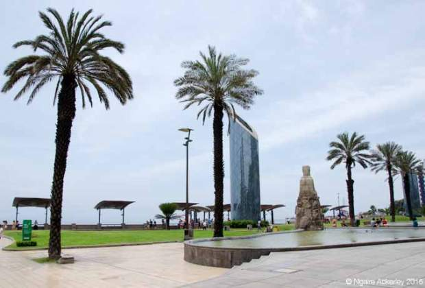 Waterfront of Miraflores
