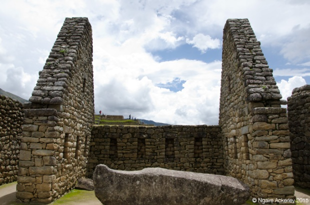 Ruins of Machu Picchu, inside