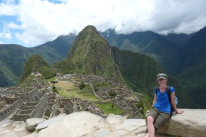 Machu Picchu, view from the top of Machu Picchu Mountain