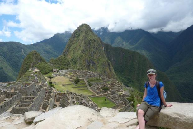 Machu Picchu, view from the top of Machu Picchu Mountain