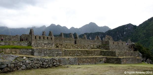 Ruins of Machu Picchu, side
