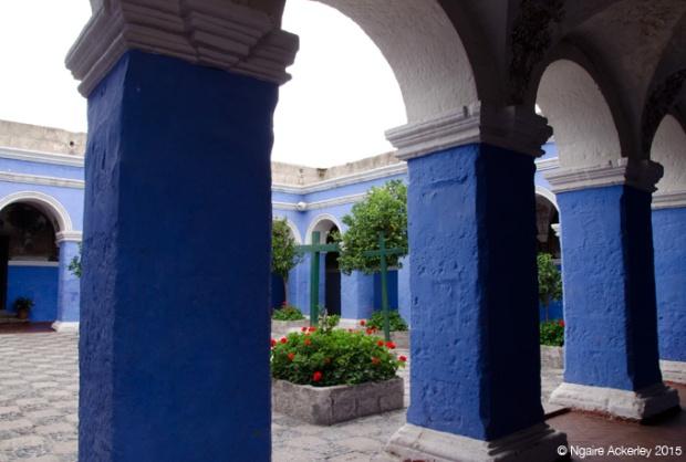 Cloister, Monasterio Santa Catalina