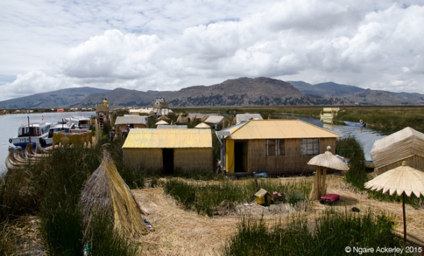Floating islands of Puno