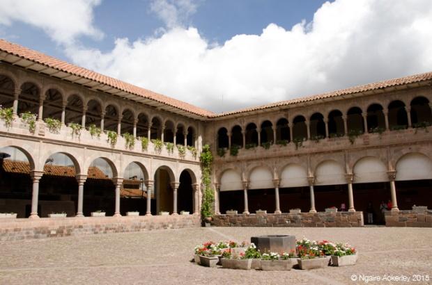 Inside Qorikancha, Cusco
